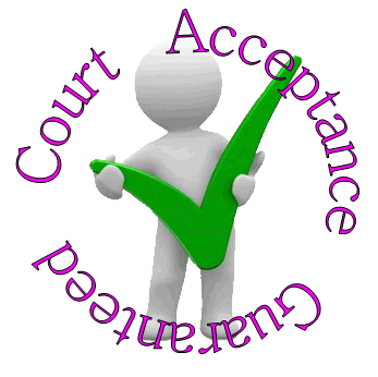 Price County Court Acceptance Guaranteed